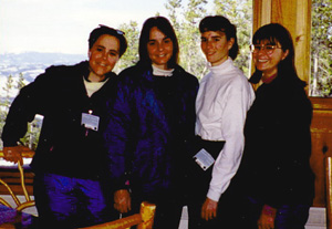 Ann Strong and sisters, Jenny, Cathy, Julie. Spiritual growth: capturing more beautiful present moments . . .