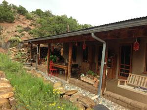 Porch in New Mexico